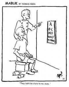 optician cartoon