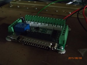 5-axis cnc breakout board with parallel port