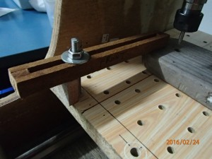 milling work piece table clamp 1