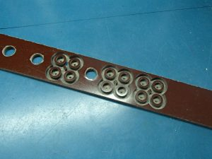 bearing spacer cut from phenolic board