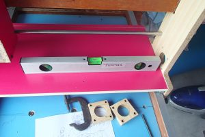 horizontal y direction check on moving gantry base board