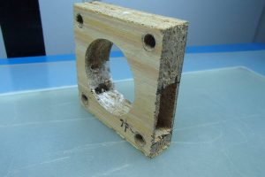 Original mdf spacer weaken by cut