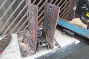 Sides welded to the base