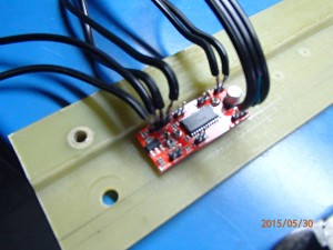 Easy driver 4.4 stepper motor, power, signal connection