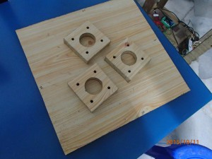 spacer for motor coupling area