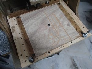 Leveled movable bed