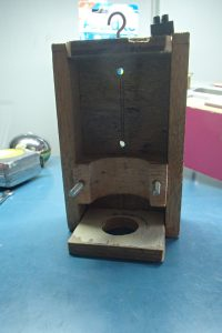 Spindle holder taken from Movable Bed CNC Machine