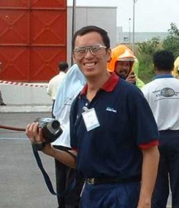 Chemical spill drill at a factory in Kulim Hi-Tech Park